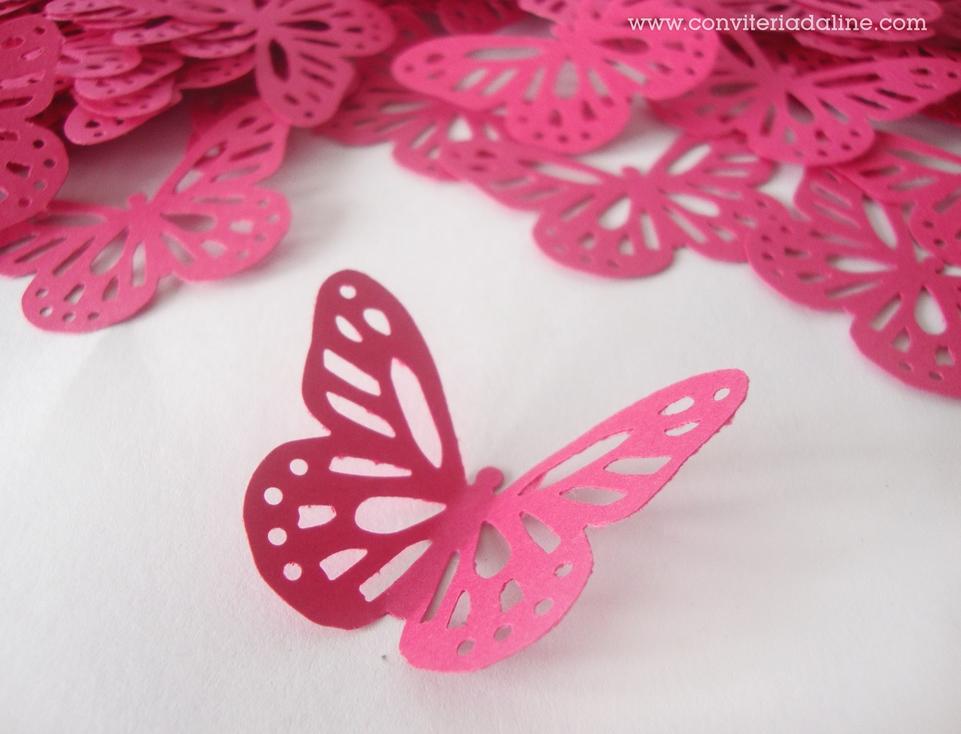 aplique borboleta rosa