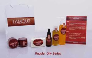 Toko Online Lamour Skin Care - Paket Lamour Reguler Face Oily Series - Jual Kosmetik Perawatan Kulit Wajah dan Tubuh
