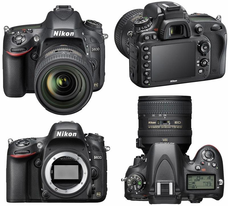 Harga dan Spesifikasi Kamera DSLR Nikon D600