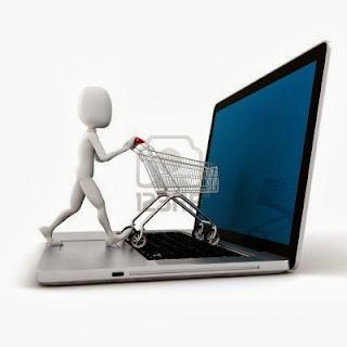 التسوق عبر الإنترنت