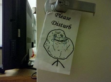 Please Disturb :S