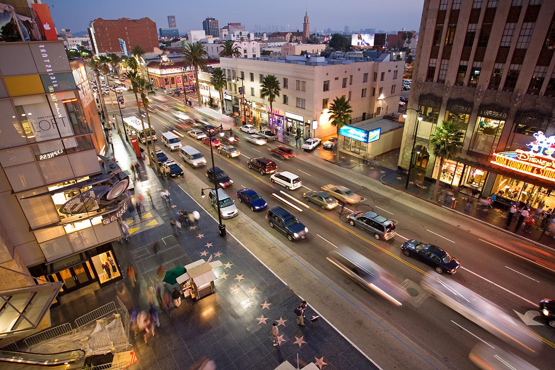 WebCam en Vivo Boulevard Hollywood - Turismo