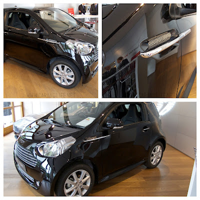 Aston Martin Cygnet for #PinItForwardUK