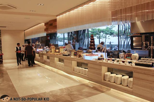 Vikings Venue Buffet Section
