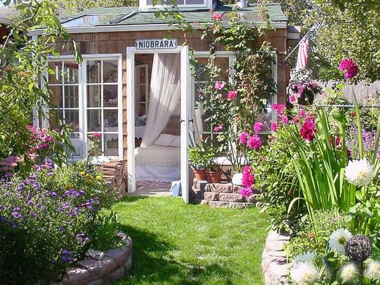 Querido Refúgio  Decoração Um jardim para sonhar