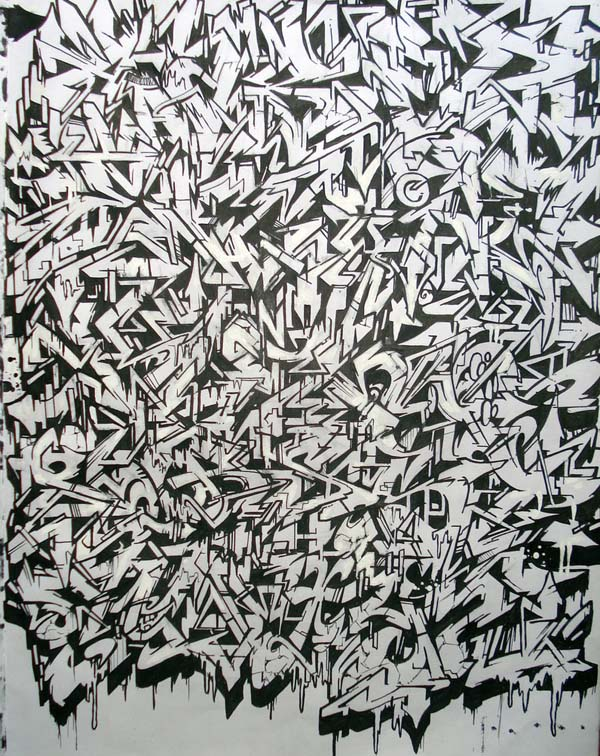 graffiti wildstyle alphabet by erste graffiti alphabet letters ...
