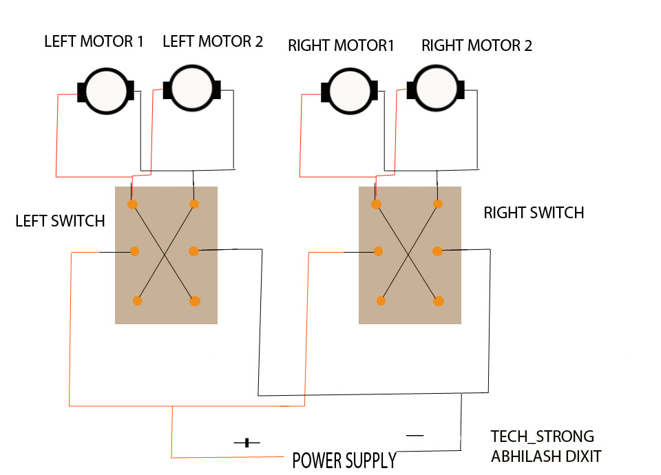 Tech_strong: HOW TO MAKE A WIRED REMOTE CONTROL ROBOT