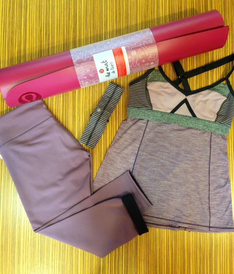 lululemon breathe in tank purple fog