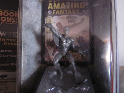 Pewter Spider-man Statue 2