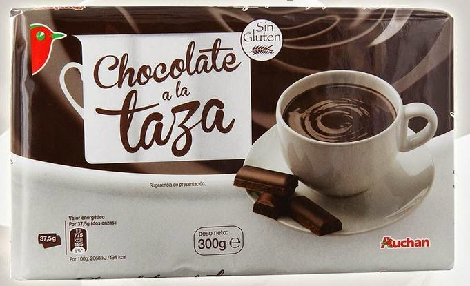 Chocolate a la taza Auchan