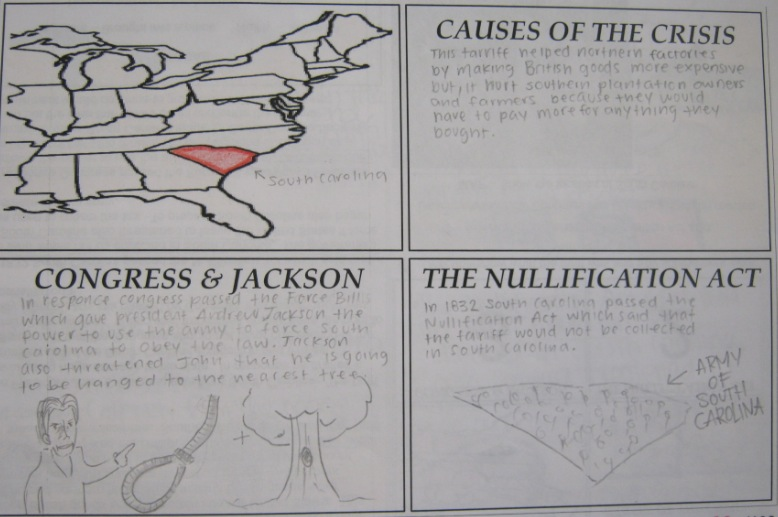 the nullification crisis of 1832