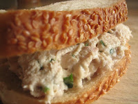 Weight loss recipes : Tarragon Chicken Salad Sandwich