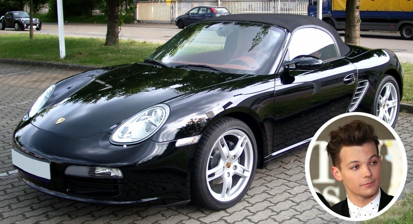 Louis Tomlinson - Porsche Boxster