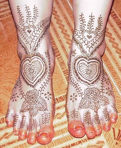 Indian Girls Eid Mehndi Designs for Feet New Indian Mehndi Designs For Eid 2011