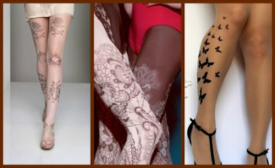 tattootightcol Fashion Friday: Tights