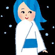 雪女のイラスト(妖怪)