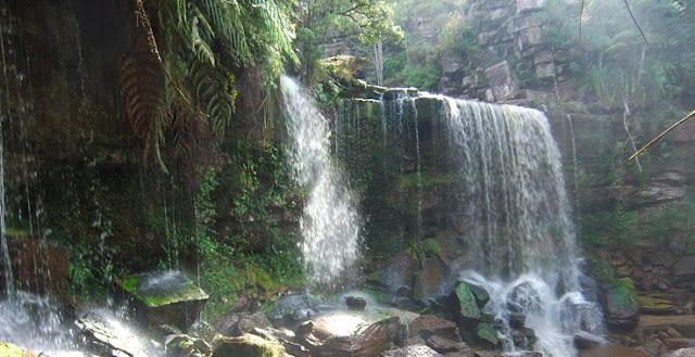 bokor national park waterfall