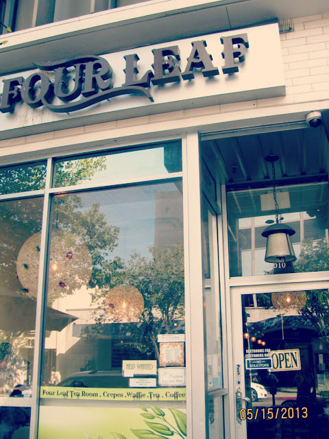 Four Leaf Tea Room- Exterior