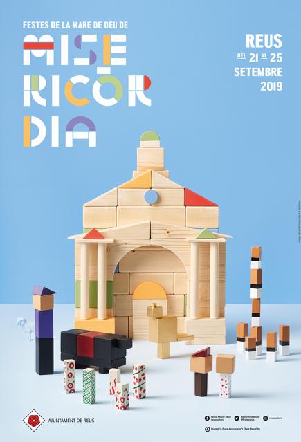 Programa de l'ajuntament de Reus per les festes de la Mare de Déu de Misericòrdia 2019