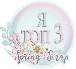 Я в ТОП-3 Spring Scrap