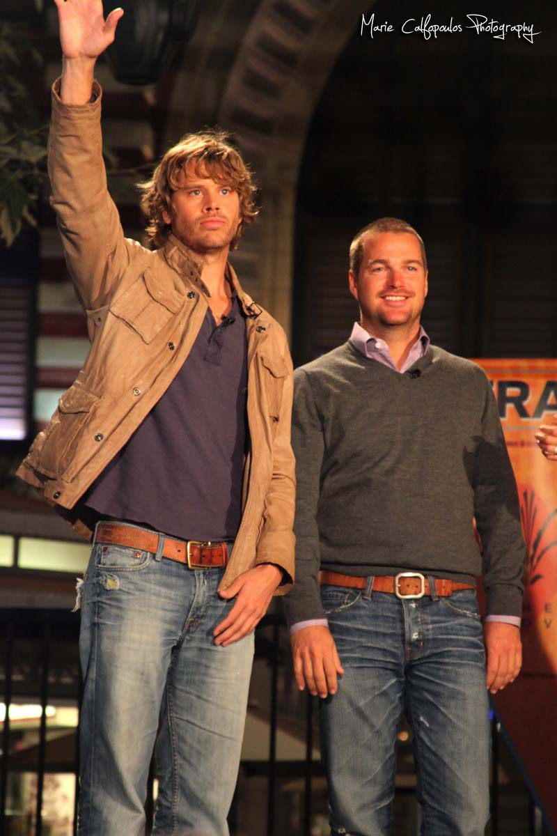 Cast at the grove ncis los angeles fan
