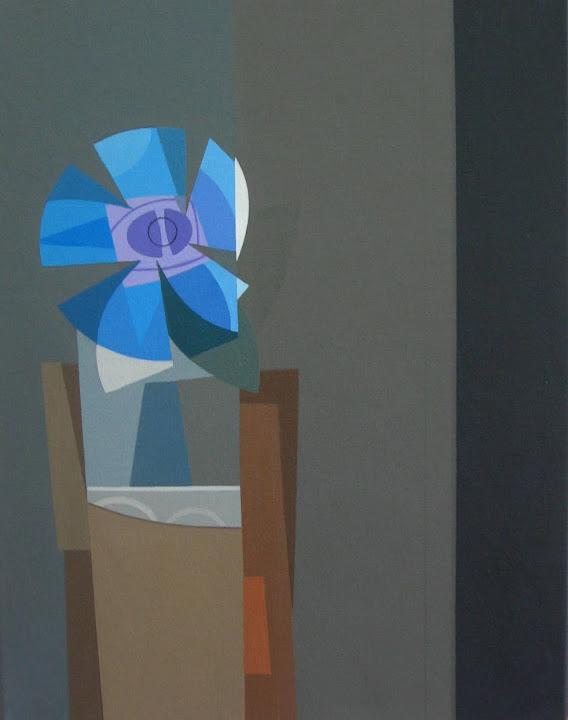 """Bodegón de la flor azul"""