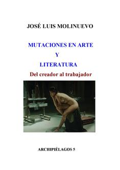 Mutaciones en Arte y Literatura. Del  creador al trabajador