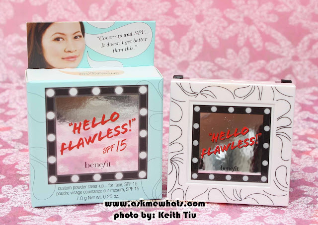 Benefit's Hello Flawless Custom Powder Cover-Up with SPF15 Review