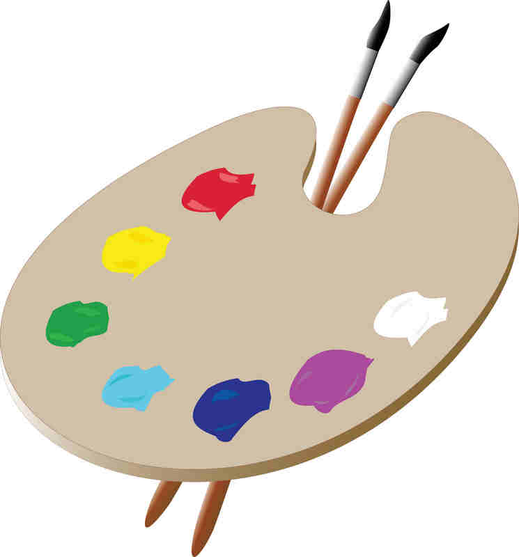 Artist Palette Cake Ideas : An Artist Palette Cake Ideas and Designs