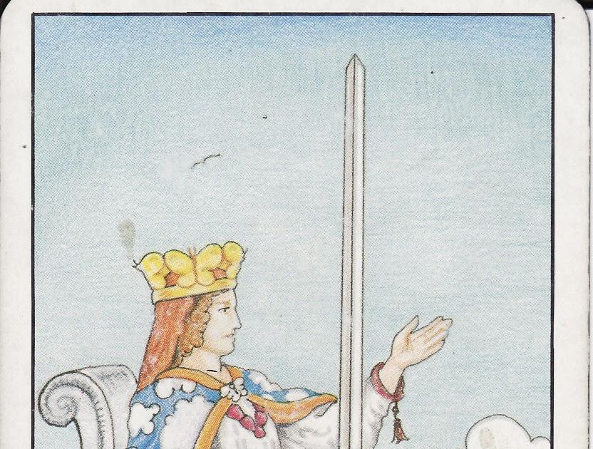 TAROT - The Royal Road: QUEEN OF SWORDS