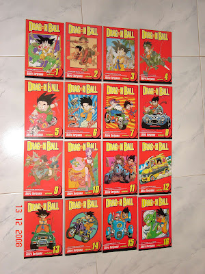 mangá dragon ball portugal