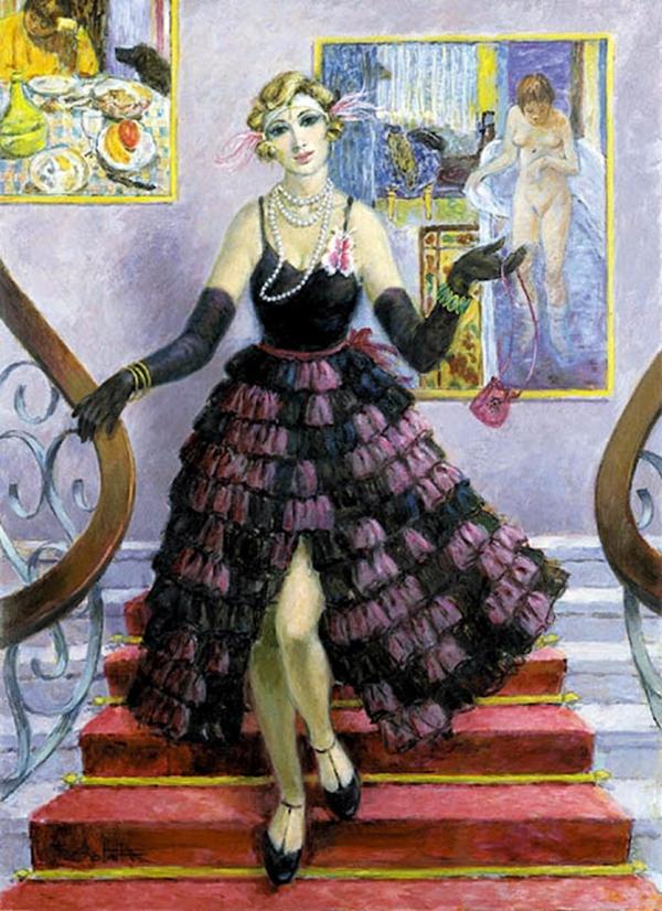 Il colore dei pensieri pittore del giorno fran ois batet - Gramellini cuori allo specchio ...