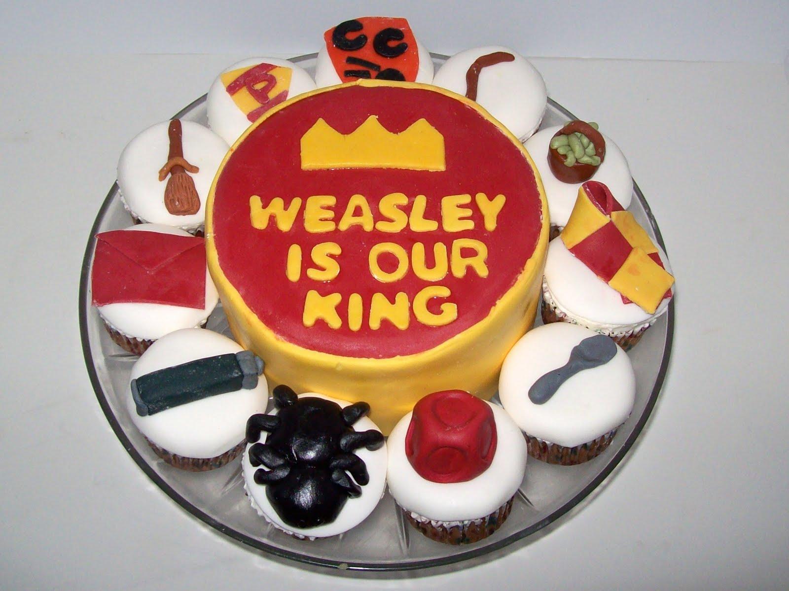 Sab Cakes Ron Weasley Cake