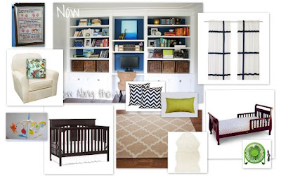 nursery mood board