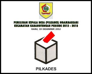 Pemilihan Kepala Desa (PILKADES) Ngambarsari 2012