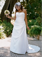 2011 Davids Bridal Plus Size Wedding Dresses Spring Collection