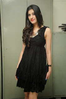 Sabha Picture Gallery in Black Dress at Everydaypopcorn Website Launch Function ~ Celebs Next