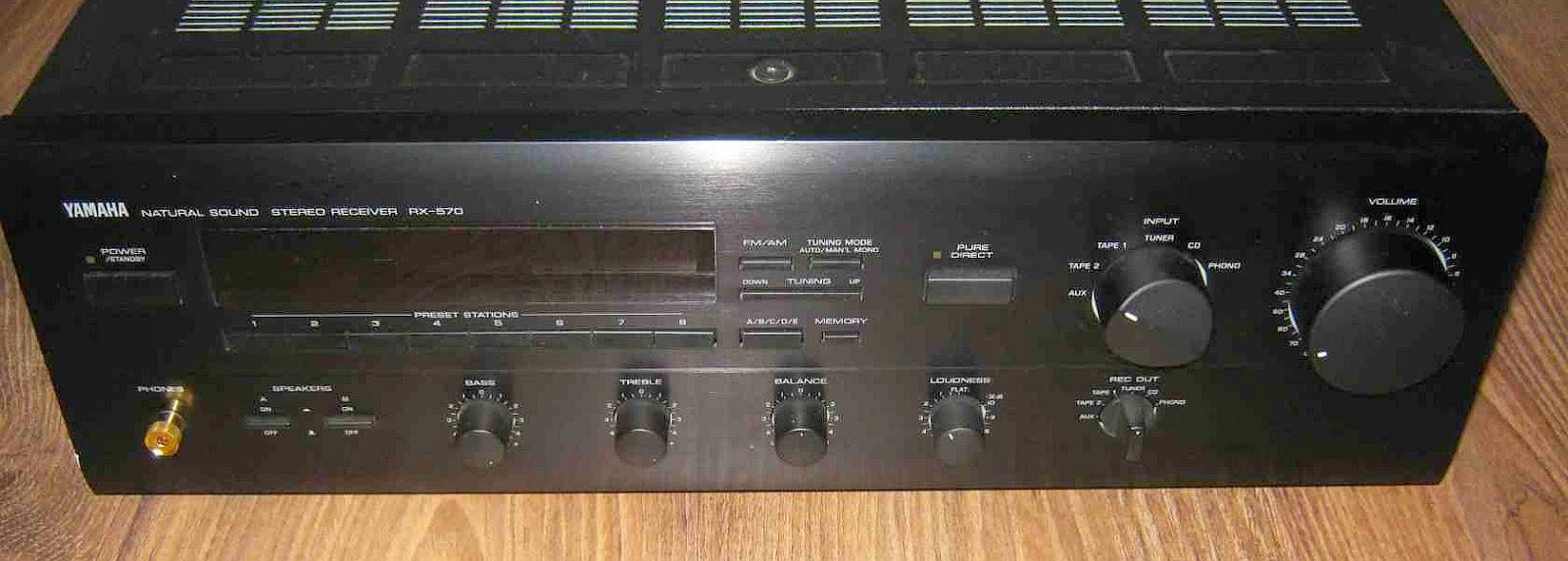 yamaha rx 750 receiver manual