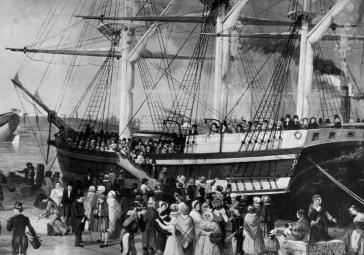 Irish American Journey: Irish Ships to America: Famous Ships of ...