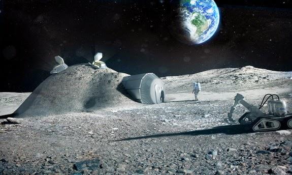 Seperti Inilah Rasanya bila Tinggal di Bulan