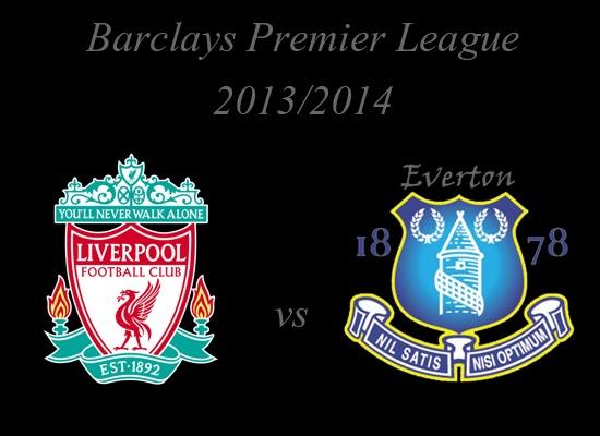 Liverpool vs Everton Barlays Premier League 2013