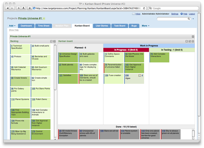 supply chain management kanban � just in time production