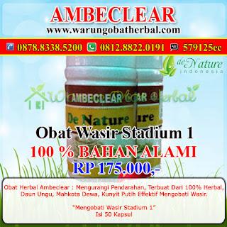 obat wasir paket 1 (ambeclear dan salep salwa)
