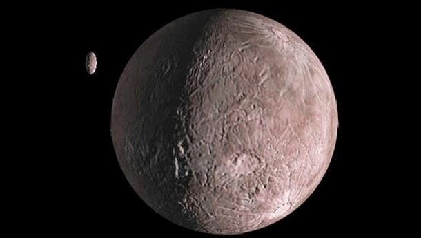 Quaoar, o planetóide para lá de Plutão