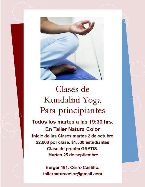 Kamal yoga clases de kundalini yoga vi a del mar - Clases de yoga en casa ...