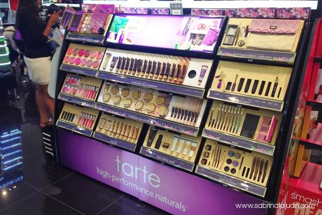 Tarte Cosmetics Now Sephora Malaysia Sabrina