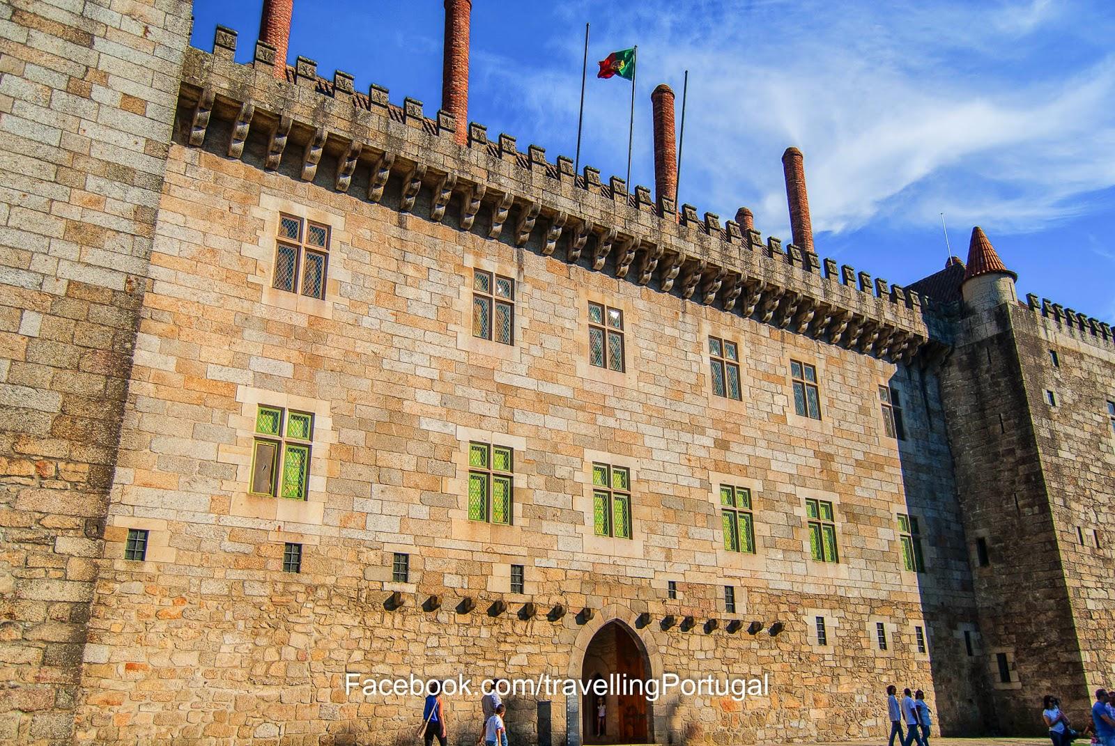 palacio de los duques de bragança en guimaraes