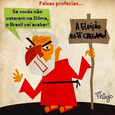 Thiago Lucas: False prophecies.