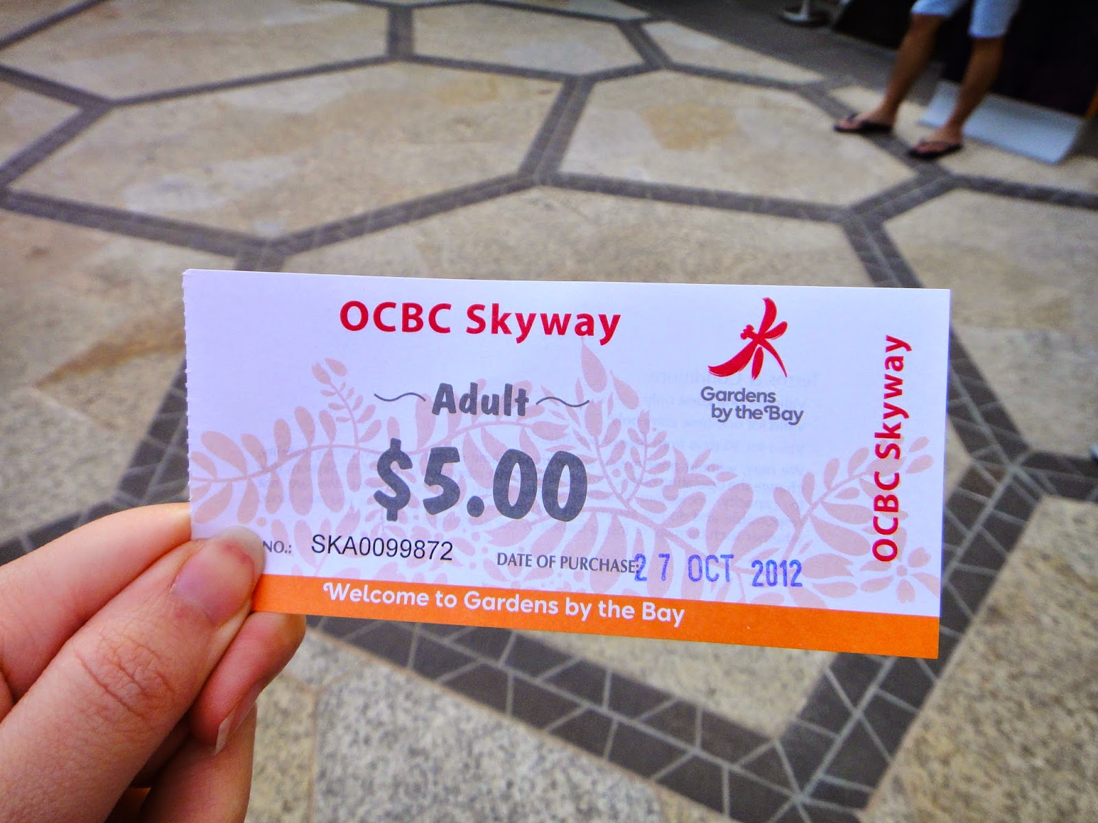 OCBC Skyway Adult Ticket Gardens by the Bay