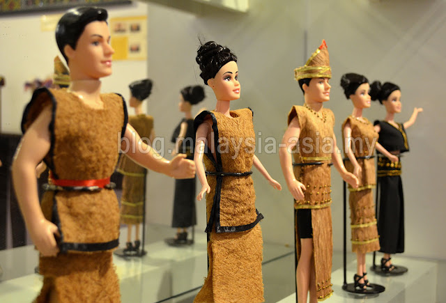 Dolls at Chanteek Borneo Gallery